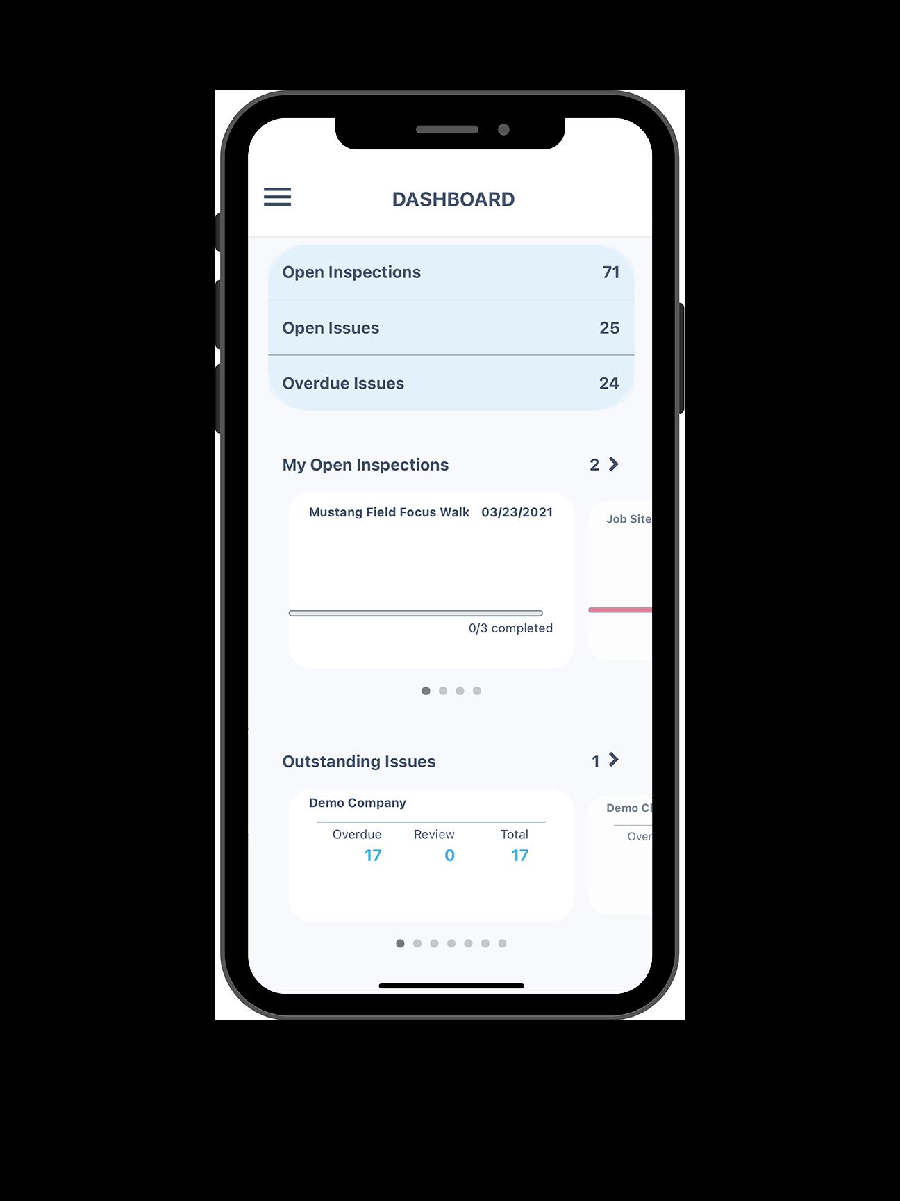 dashboard on iphone